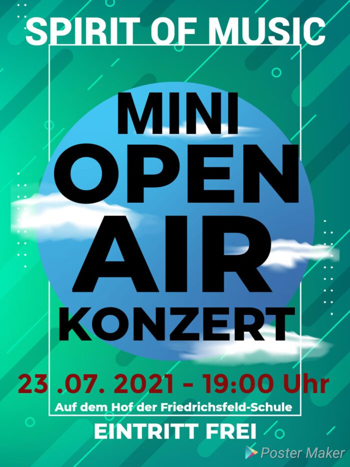 Mini-OpenAir-Konzert 2021