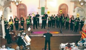 Auftritt beim ev. Gemeindefest